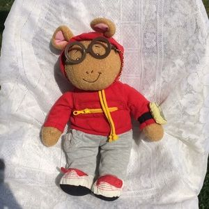 "Other - Set of 3 Vintage 14"" Arthur Plush Characters"
